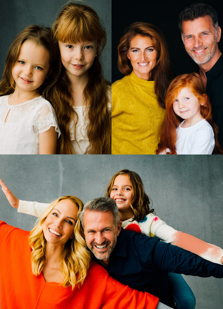 Familien,Fotoshooting